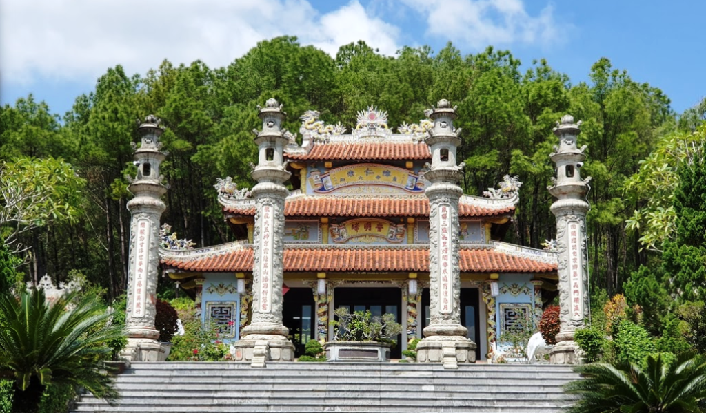 Huyen Tran Princess Temple Hue- Best Hue City Tour Travel