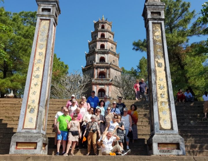 Thien Mu pagoda Hue Vietnam- Best Hue City Tour