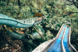 Abandoned water park Hue- Thuy Tien Lake- Best Hue City Tour Travel