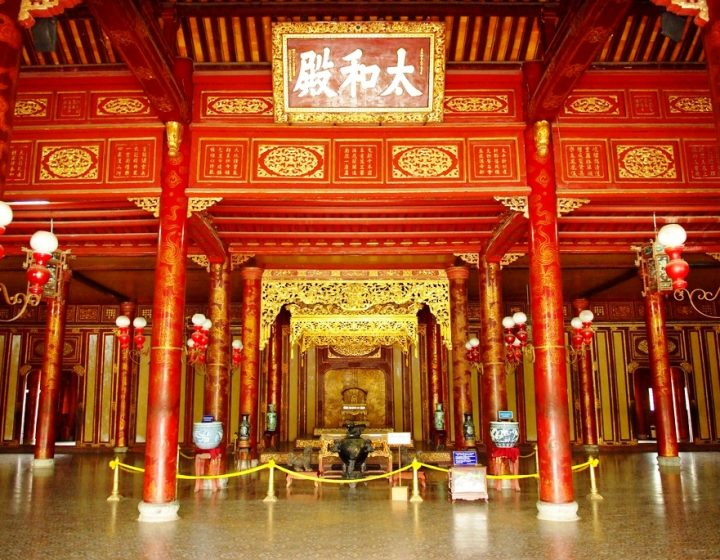 Thai Hoa palace Hue- Best Hue City Tour Travel