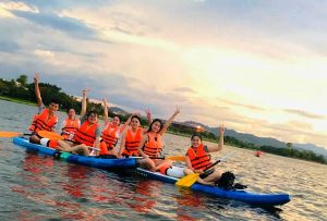 Hue SUP Tour On Perfume River- Best Hue City Tour Travel