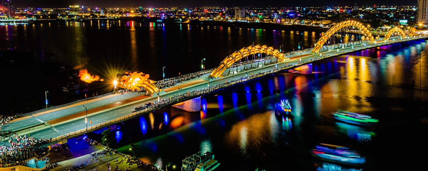 Dragon Bridge Da Nang- Best Hue City Tour Travel