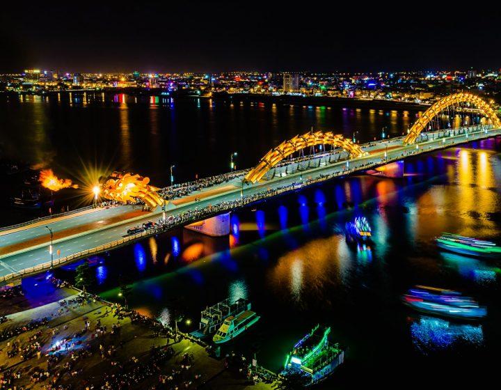 Dragon Bridge Da Nang- Best Hue City Tour Travel