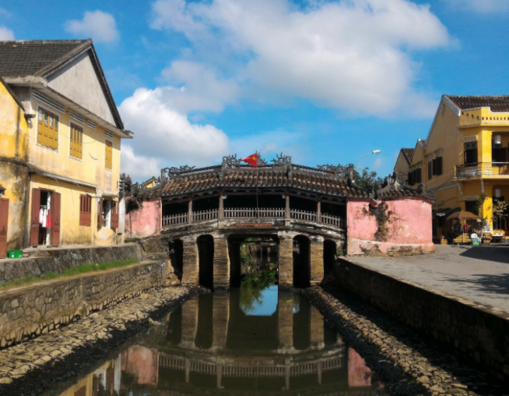 Japanese Covered Bridge Hoi An- Best Hue City Tour Travel