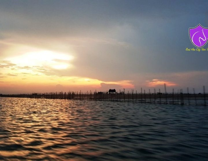 Sunset on Tam Giang Lagoon- Best Hue City Tour